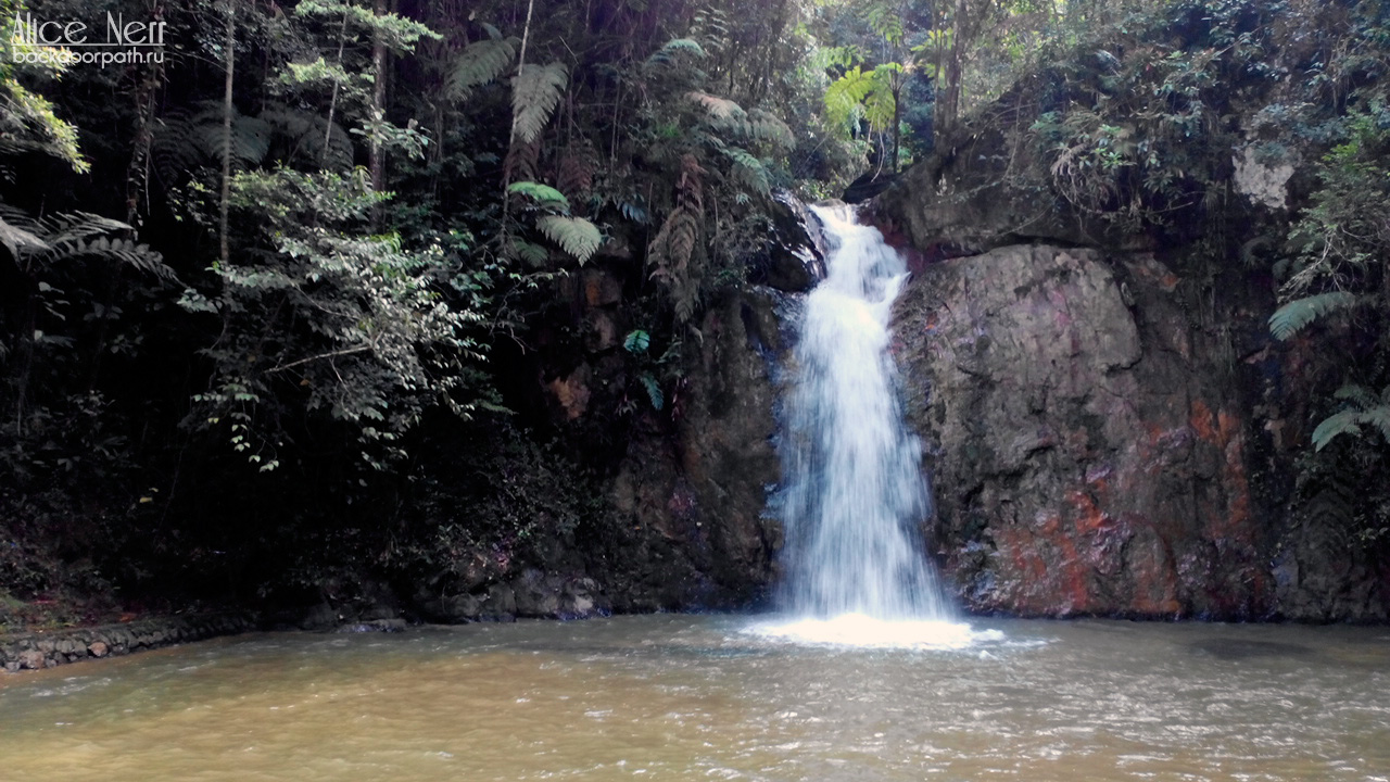 Jeriau waterfall, frazer hill